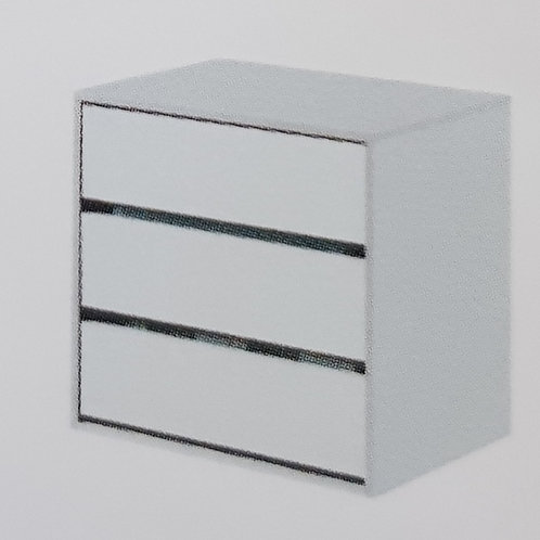 Arctic 3 Drawer Unit
