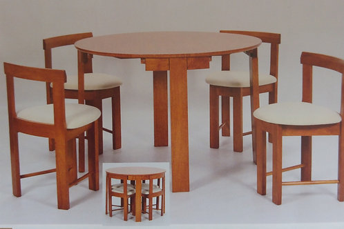 Durham Dining Table and 4 Chairs