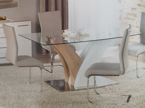 Simone Dining Table and 6 Chairs