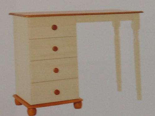 Skagen Cream 4 Drawer Dressing Table