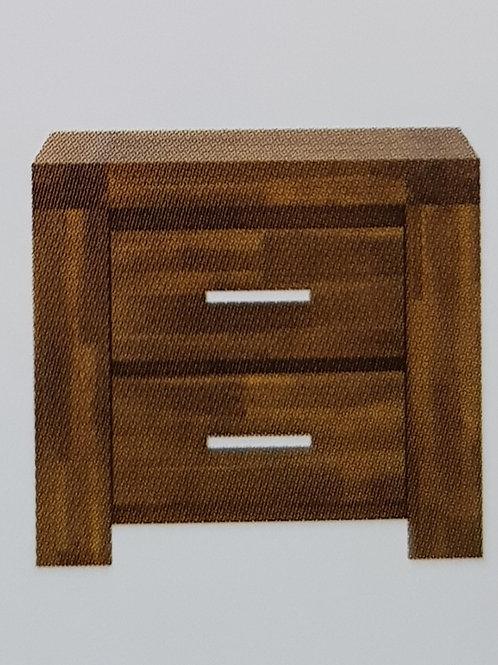 Parkfield 2 Drawer Bedside Cabinet
