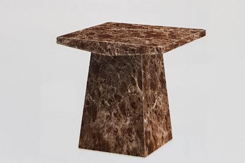 Senegal Marble Lamp Table