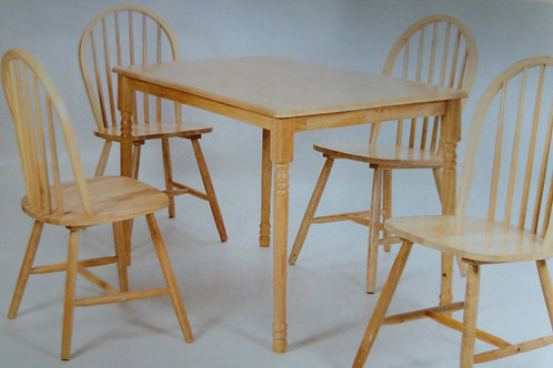 Sutton Dining Table and 4 Chairs