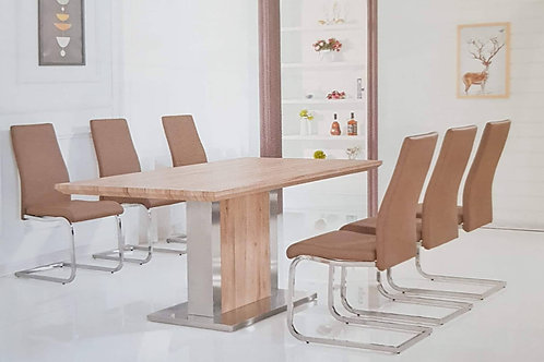 Belize Dining Table and 6 Chairs