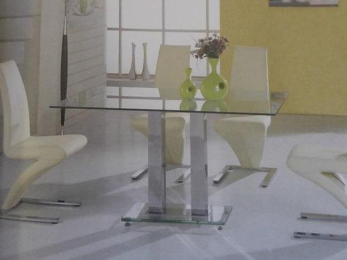 Ankara Dining Table and 4 Ankara Chairs