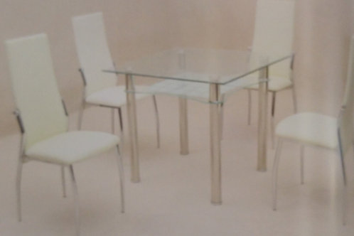Jazo Dining Table and 4 Chairs
