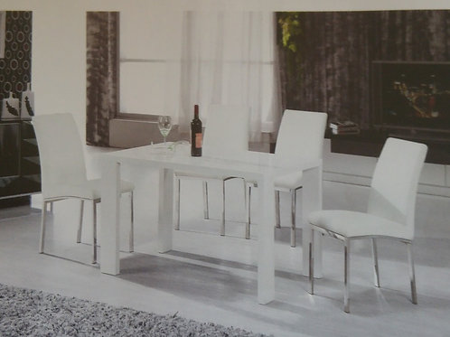 Peru Dining Table and 4 Chairs