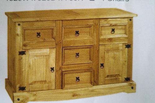 Buffet Sideboard 2 Door 5 Drawer