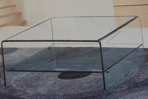 Angola Clear Square Coffee Table