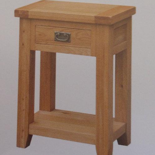 Acorn Hall Table 1 Drawer