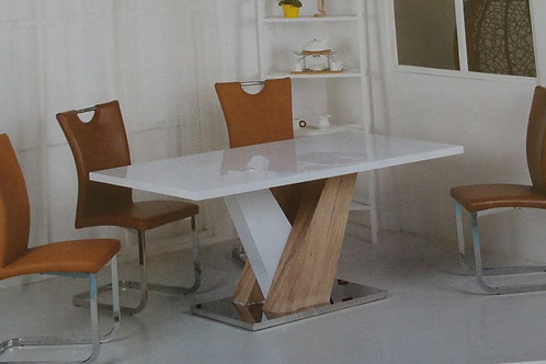 Natalie Dining Table and 6 Chairs