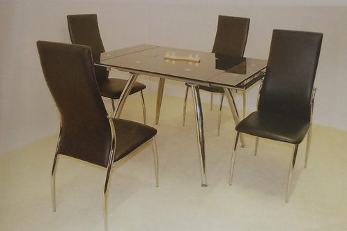 Magna Extending Dining Table and 4 Chairs