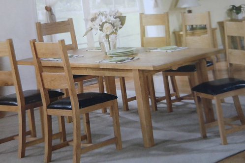 Stirling Extending Dining Table and 6 Chairs