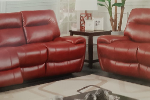 Bailey Recliner Leather Gel and PU Sofa Suite