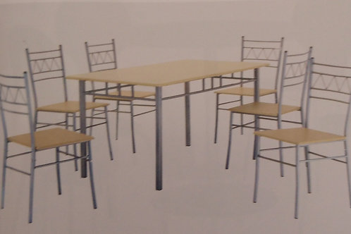 Oslo Large Dining Table and 6 Chairs