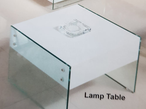 Marco Lamp Table with Drawer