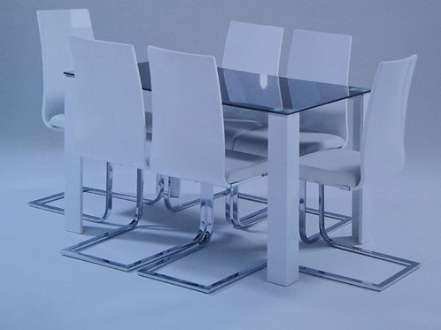 Scully Dining Table and Chairs