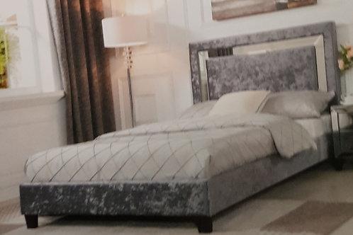 Augustina Crushed Velvet Bed