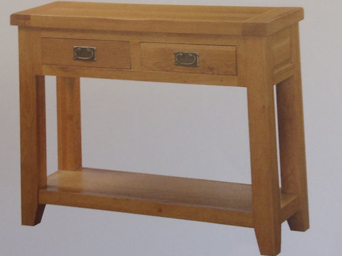 Acorn Hall Table 2 Drawer