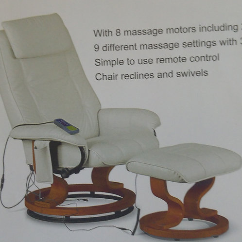Aston Massage Chair and Footstool