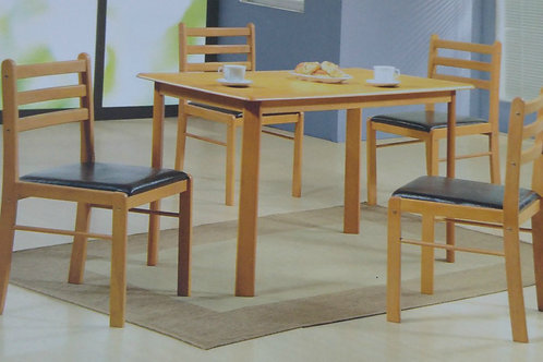 Hudson Dining Table and 4 Chairs