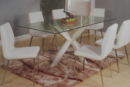 Langley Dining Table and 6 Chairs