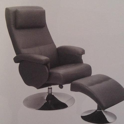 Denton Recliner Armchair with Footstool