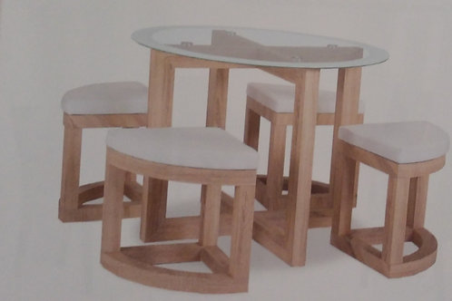Quarry Dining Table and 4 Seats