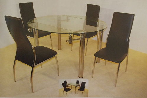 Munich Extending Dining Table and 4 Chairs