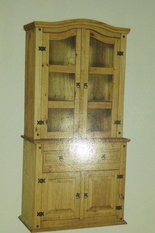 Corona Sideboard & 2 Door Hutch