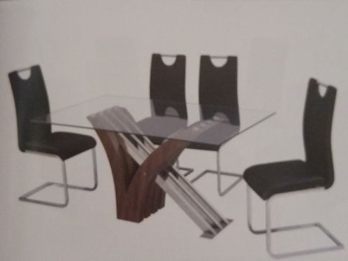 Caspian Dining Table and 6 Chairs