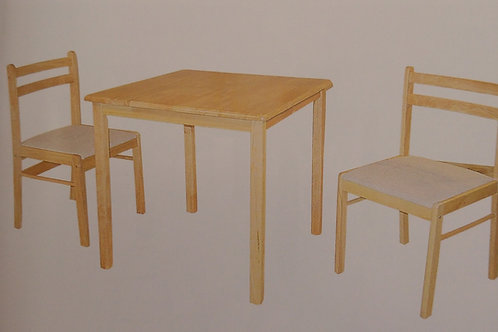 Dinnite Dining Table and 2 Chairs