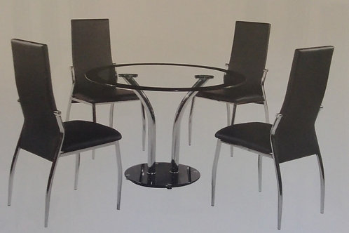 Farren Dining Table and 4 Chairs
