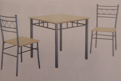 Oslo Small Dining Table and 2 Chairs