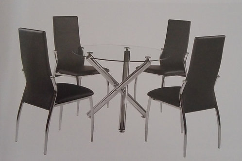 Calder Dining Table and 4 Chairs