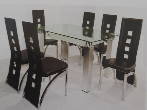 San Francisco Dining Table and 6 Chairs