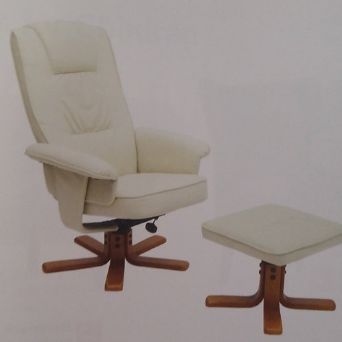 Althorpe Recliner Armchair with Footstool