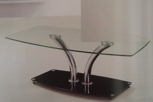 Delphi Clear Coffee Table
