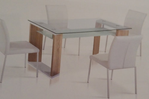 Zola Dining Table and 4 Chairs