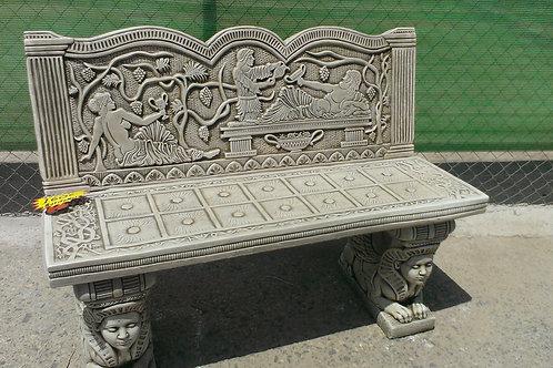 Concrete Greek Bench