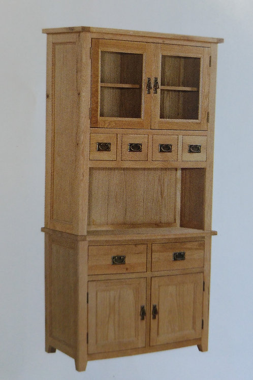 Stirling Buffet 2 Doors and 2 Drawers and Hutch 2 Doors