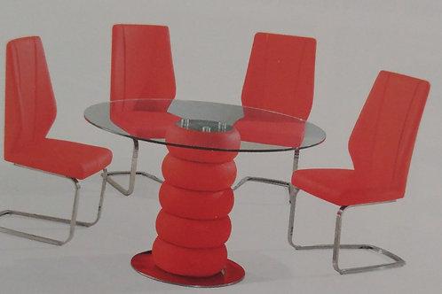 Majuba Dining Table and 4 Chairs