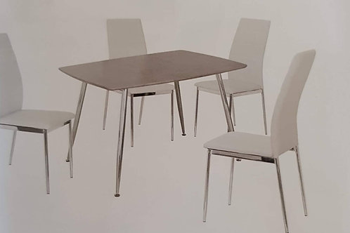 Lynx Dining Table and 4 Chairs