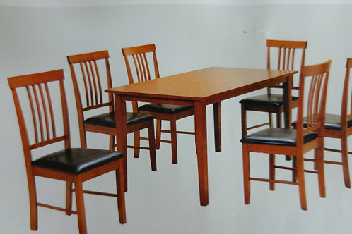 Massa large Dining Table and 6 Chairs