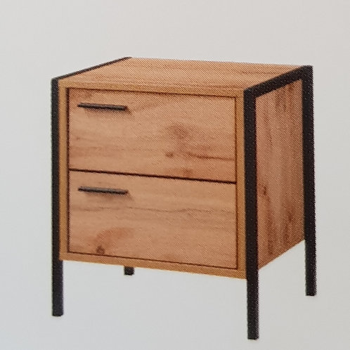 Michigan 2 Drawer Nightstand