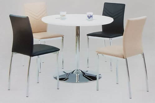 Sylvia Dining Table and 4 Chairs