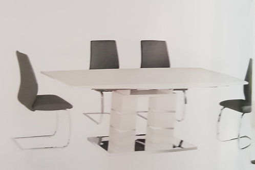 Janelle Extending Dining Table and 6 Chairs