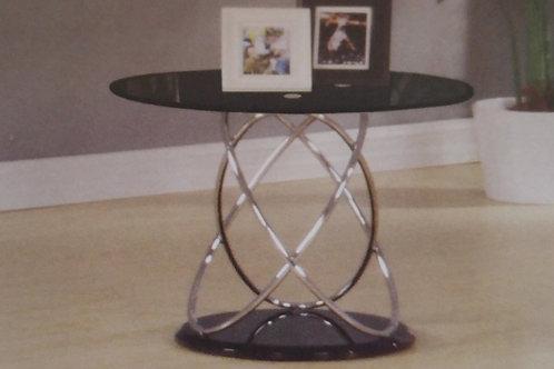 Eclipse Black Lamp Table
