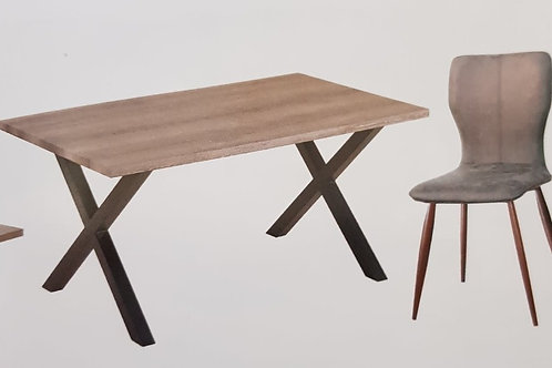 Manhattan Dining Table and 6 Chairs