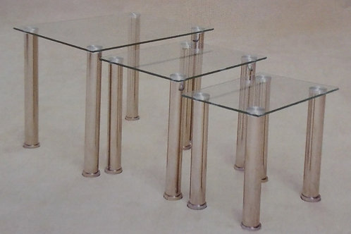 Togo Clear Nest of Tables